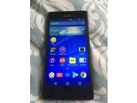 "Sony Xperia M4 Aqua 5"" 8GB Black Smartphone,in good condition"