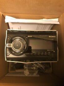 Sony car radio double din