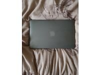 Great condition macbook, hardly used due to dropping out of a uni course. Charger and cover included