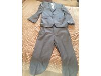 Bargain**** hand stitched French connection silver/ grey suit worn once!!!! £40