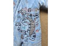 Tigger winter suit foot and gloves removable