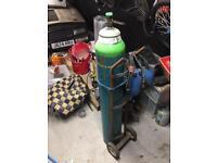 Boc welding gas bottle