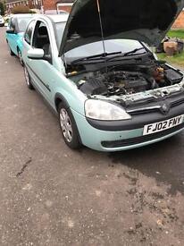 Vauxhall corsa 1.7 dti
