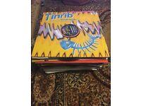 60+ hardhouse vinyl records CHEAP