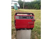 Honda ex650 generator for sale, no longer needed