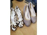 2 pairs brandnew shoes size 5