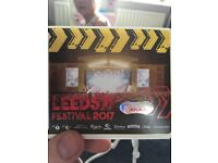 x2 leeds festival saturday tickets