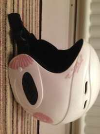 Children's White Ski Helmet