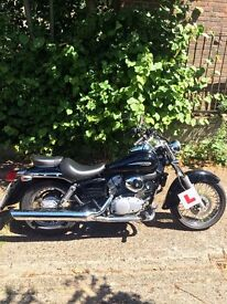 2007 Honda Shadow VT125 for sale with gear and Tom Tom navigation