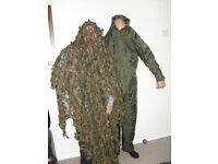 Pigeon decoys with all in one Quality Baleno suit and camouflage