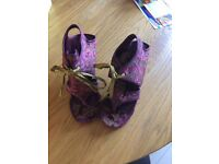 Gorgeous Irregular Choice Shoes, perfect condition, never worn. Size 5/6