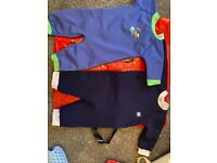 All in one Wet Suits - used