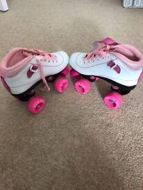 SFR size 2 roller skates