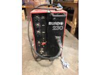 Murex 230 3 phase Mig welder great machine