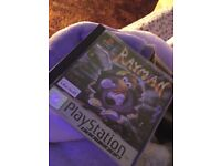 Original Rayman PlayStation 1 game
