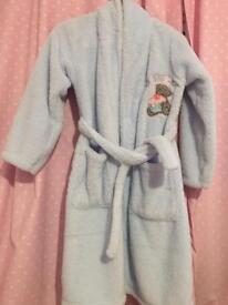 Tatty teddy dressing gown age 7-8