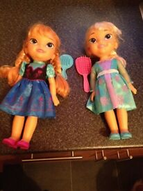 Anna and else dolls
