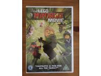 The Lego Ninjago Movie dvd brand new sealed great kids film