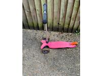 Kids pink Micro scooter