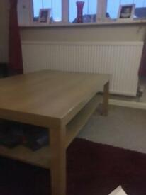 Used coffee table