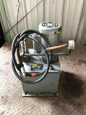 Parker D5-2.9ct11560 Hydraulic Power Unit 5 Gallon 375psi 34hp 1ph