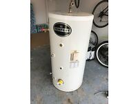 UNVENTED HOT WATER CYLINDER 200 litre INDIRECT Mains Pressured - TEMPEST