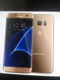 NEW Unopened Samsung Galaxy S7 Edge Gold