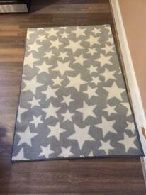 Children's star rug