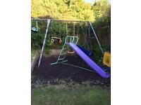 TP swing set Not slide £25
