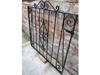 Wrought iron patio / garden gate Width 1070mm Height 980mm