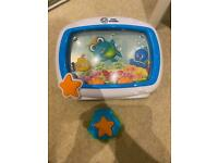 Baby Einstein, Sea Dreams Soother™ Cot Toy with Remote, Lights and Melodies, Newborns and up