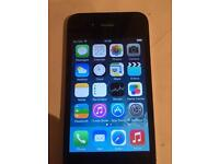 Iphone 4 black very good condition on 02 network.