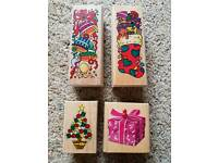 Christmas craft Stamp Set