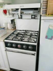Free gas cooker for scrap metal