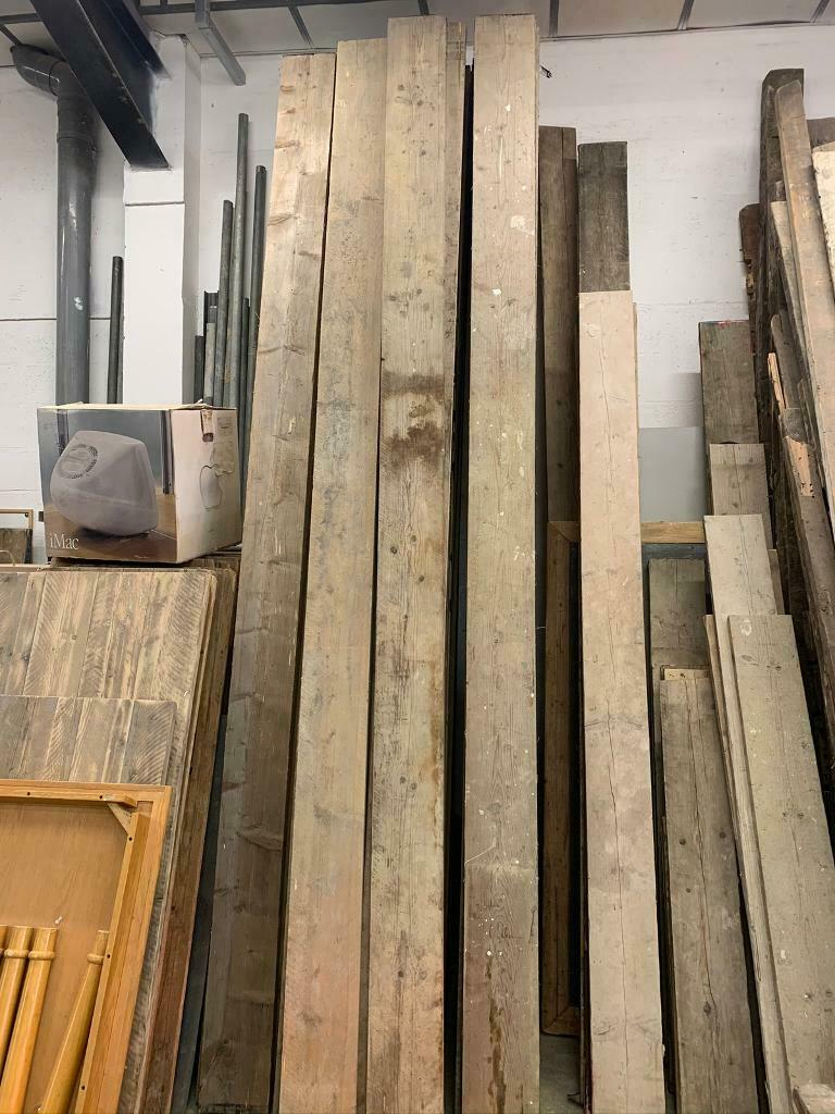 Dry stored Reclaimed Scaffold boards 100% Sustainable | in ...