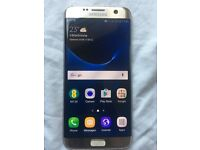 Samsung S7 Edge (Gold Platinum 32GB) Bairly Used - Locked to EE