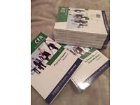 CFA Level I Kaplan Schweser untouched textbooks AND practice exams