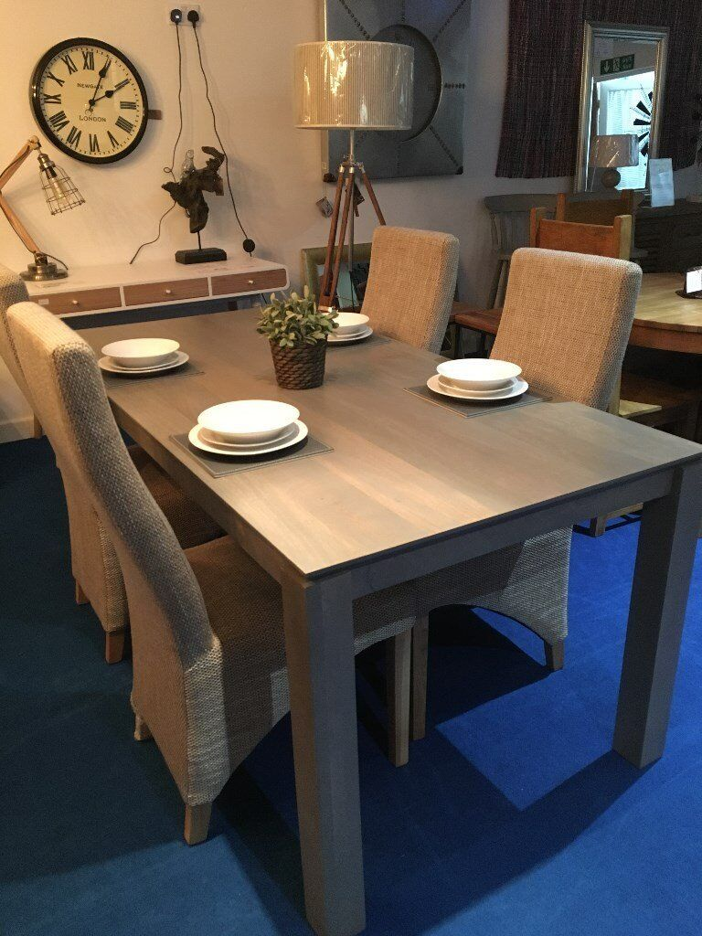 John Lewis Dining Room Furniture Asha Wooden 6 8 Seater Table Rrp 450