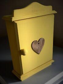 Yellow / Wooden Key Box