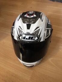 Motorcycle helmet, HJC FG -15. Kynee full face XL excellent condition £90
