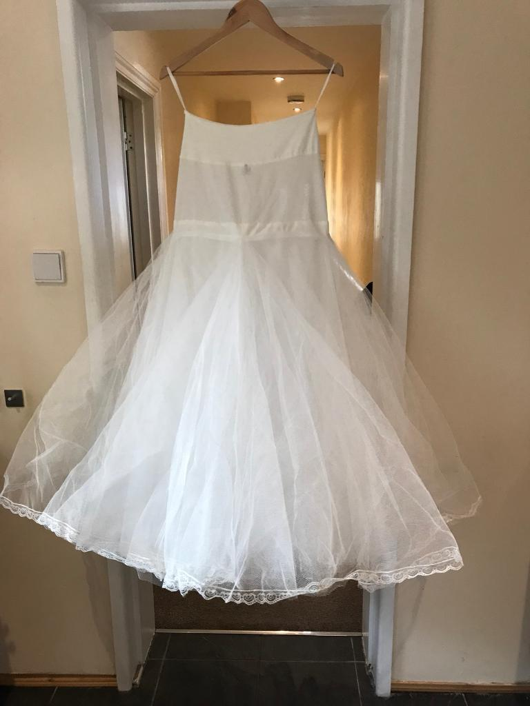Wedding dress hoop / underskirt 3 layers | in Bournemouth, Dorset ...