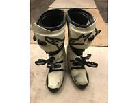 Alpine star motocross boots size 9