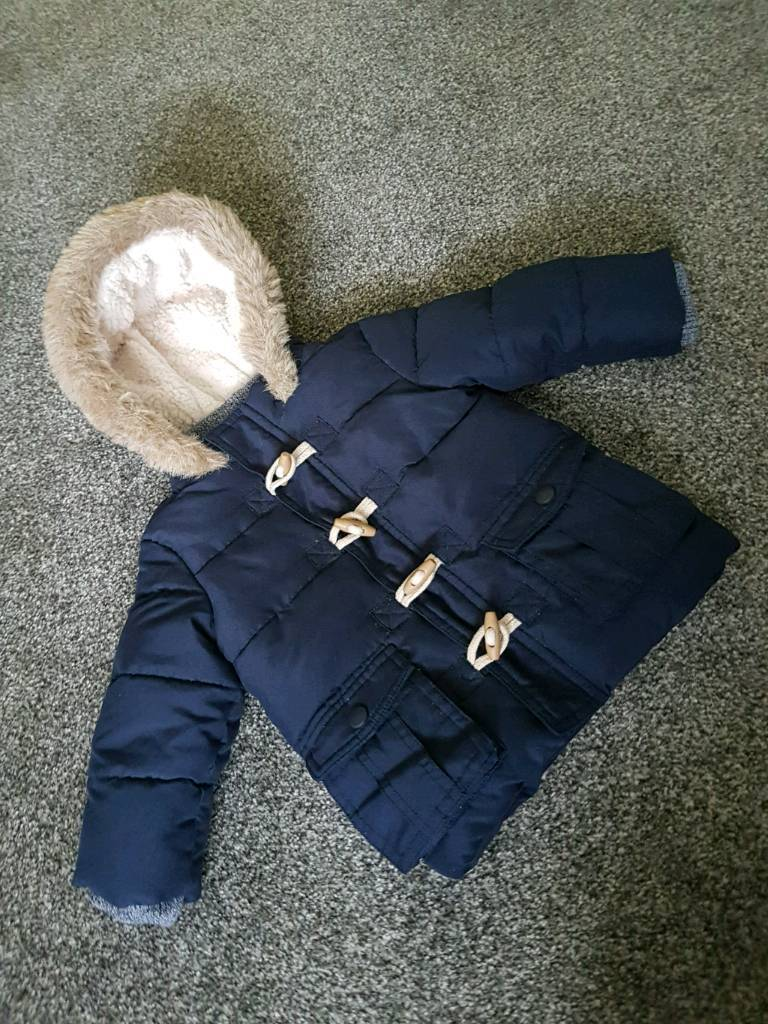 3f9114d73 Baby boy warm and soft winter coat jacket. Perfect condition. 6-9 months.