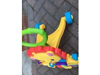 Fisher price lion baby walker