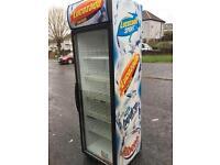 Lucozade single door fridge/Drinks chiller for sale