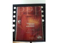 Cornet practice book: Preparation , Practice & Performance by Dr Roger Webster