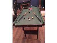 Snooker/ pool table excellent condition