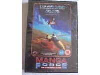 DVD MACROEE PLUS EPISODES 1 & 2 MANGA FORCE THE ULTIMATE COLLECTION - SEAL WRAPPED NEW BOX