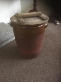 Victorian bread bin