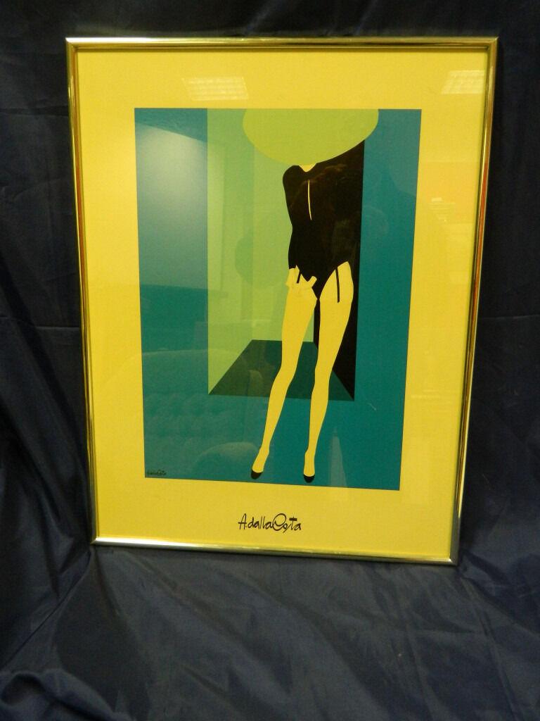 Art Deco Amleto Dalla Costa Print | in Peebles, Scottish